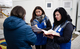 Svitlana Tavantseva (right) counsels survivors of violence in Ukraine. Too often, she says, women are shamed rather than perpetrators. © UNFPA Ukraine/Maks Levin